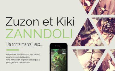 Zandooli—Le premier livre en réalité augmentée de la Caraïbe